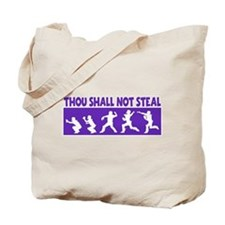SHALL NOT STEAL Tote Bag