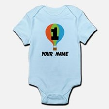 Personalized 1st Birthday Balloon Body Suit