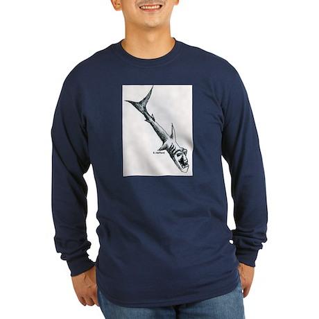 BIO SHARK Long Sleeve Dark T-Shirt