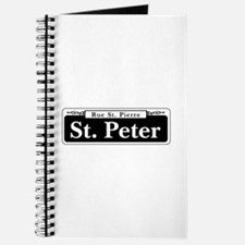 St. Peter Street, New Orleans Journal