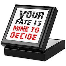 Your Fate is Mine Keepsake Box