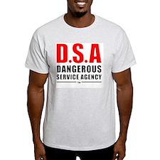 DSA Dangerous Service Agency RD-BK T-Shirt