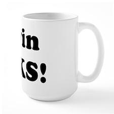 Melvin Rocks! Mug