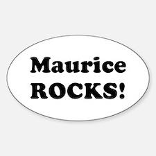 Maurice Rocks! Oval Decal