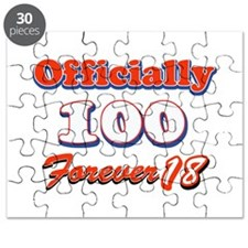 officially 100 forever 18 Puzzle
