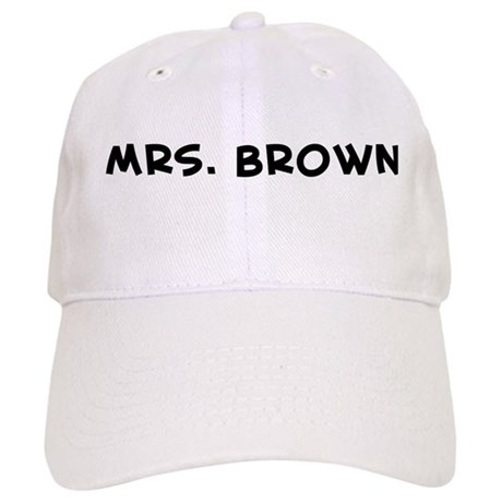 Mrs. Brown Cap