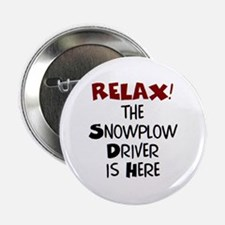 """snowplow driver here 2.25"""" Button"""