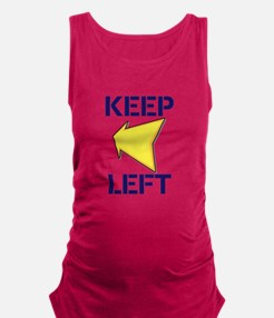 Keep Left Maternity Tank Top