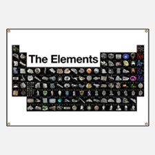 The Periodic Table of Elements Banner