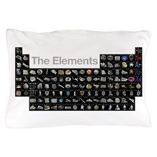 The Periodic Table of Elements Pillow Case
