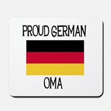 Proud German Oma Mousepad