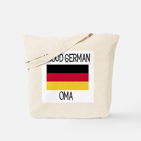 Proud German Oma Tote Bag