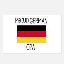 Proud German Opa Postcards (Package of 8)