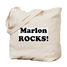 Marlon Rocks! Tote Bag