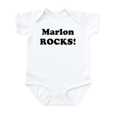 Marlon Rocks! Infant Bodysuit