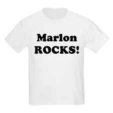 Marlon Rocks! Kids T-Shirt
