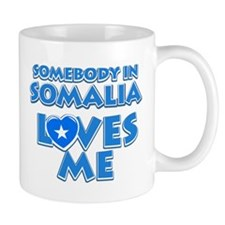 Somebody in Somalia Loves me Small Mug
