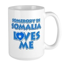Somebody in Somalia Loves me Mug