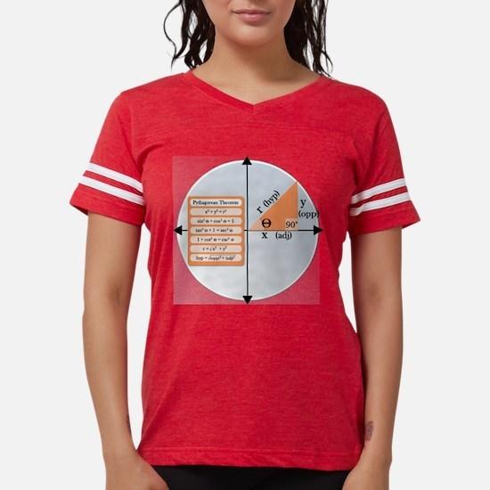 Cute Educational Womens Football Shirt