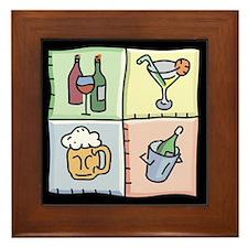 Wine Lover Framed Tile