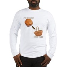 Biscuit in the Basket Hockey Long Sleeve T-Shirt