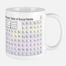 The Periodic Table of Social Media Mugs