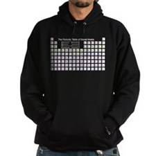 The Periodic Table of Social Media Hoodie