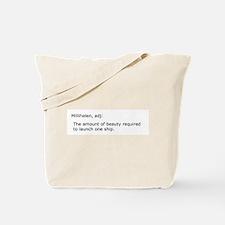 Millihelen Tote Bag
