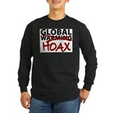 Anti global warming Long Sleeve T-shirts (Dark)
