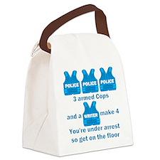 Castle TV Under Arrest Canvas Lunch Bag