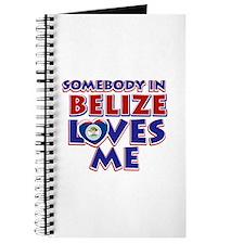 Somebody in Belize Loves me Journal