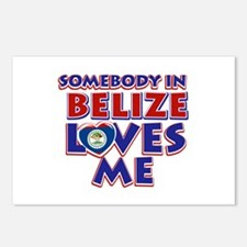 Somebody in Belize Loves me Postcards (Package of