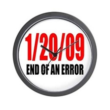 End of an Error Wall Clock