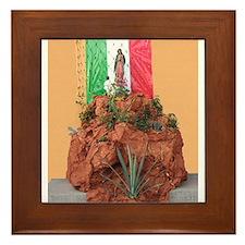 Virgin of Guadalupe Shrine Framed Tile