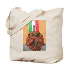Virgin of Guadalupe Shrine Tote Bag