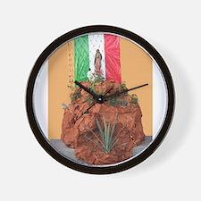 Virgin of Guadalupe Shrine Wall Clock