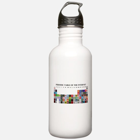 Periodic Table of Internet Water Bottle