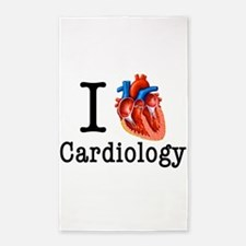 I love Cardiology Area Rug