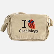 I love Cardiology Messenger Bag
