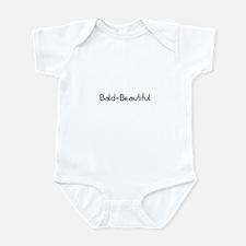 Bald = Beautiful Infant Bodysuit
