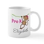 Pre-K Preschool Personalized Girls Mugs