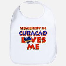 Somebody in Curacao Loves me Bib