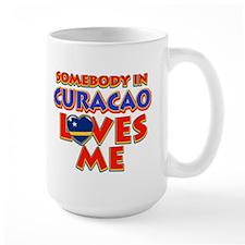 Somebody in Curacao Loves me Mug
