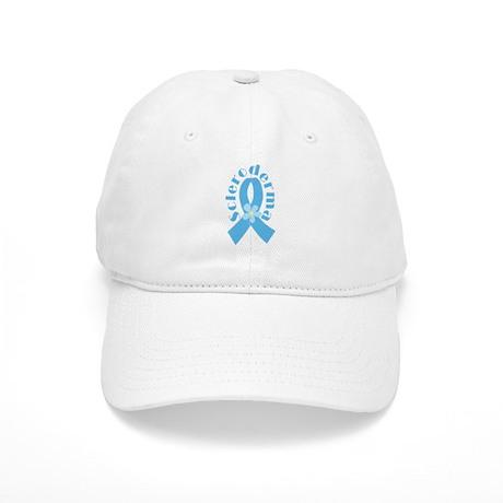 Scleroderma Light Blue Ribbon Cap