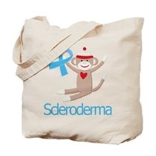 Scleroderma Sock Monkey Tote Bag