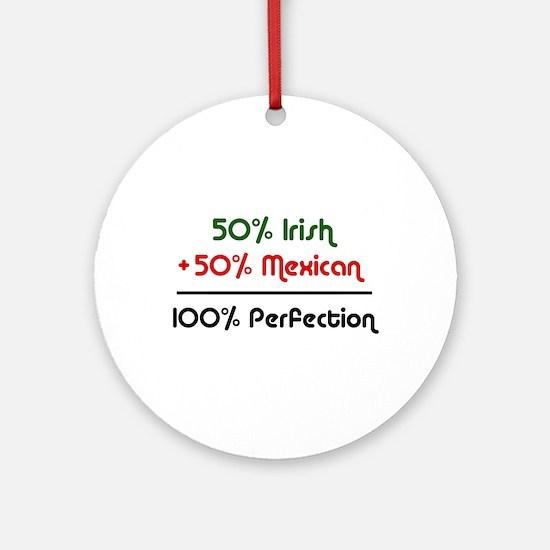 Irish & Mexican Ornament (Round)