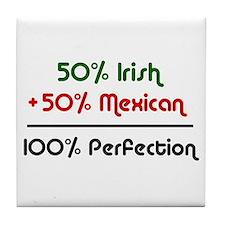 Irish & Mexican Tile Coaster
