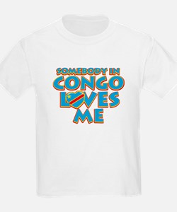 Somebody in Congo Loves me T-Shirt