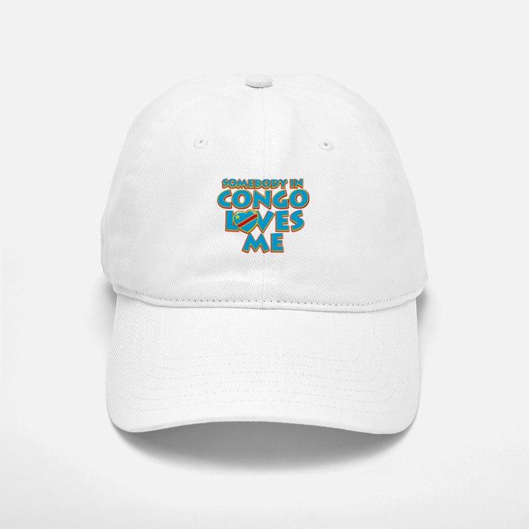 Somebody in Congo Loves me Baseball Baseball Cap