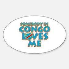 Somebody in Congo Loves me Decal